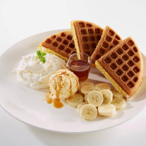 皇家冰团香蕉巧克力格格饼