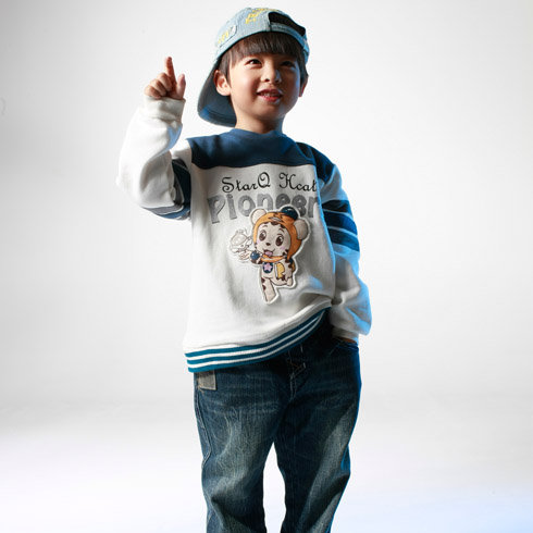 美美猪运动男孩嘻哈装
