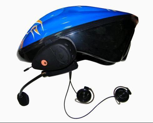 500米对讲摩托车头盔蓝牙耳机