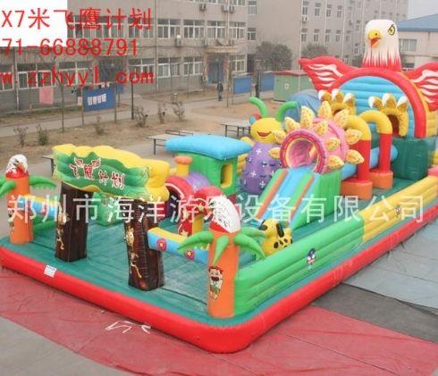 儿童充气蹦蹦床价格儿童充气沙滩池儿童充气城堡多少