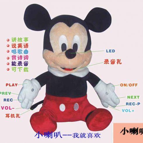 智力鼠故事机_小喇叭儿童玩具-3158招商加盟网
