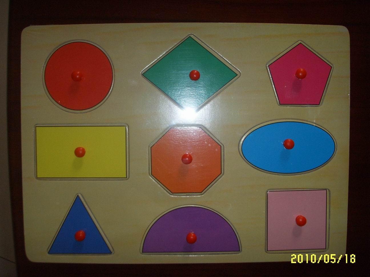 几何图形拼图图片