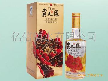 皇冠贵人道酒_贵人道_泸州老窖头曲白酒-3158招商加盟网