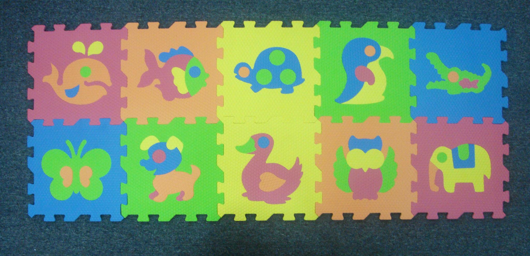 家乐宝 动物拼图地垫