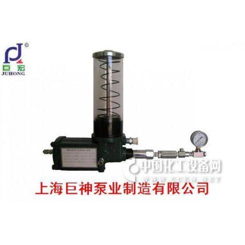 巨神水泵气动柱塞干油泵注脂泵