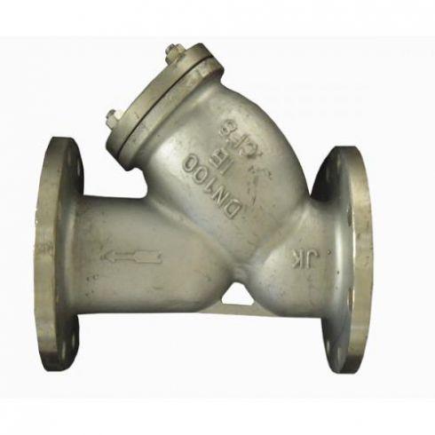 该过滤器具有结构先进,阻力小,排污方便等特点.适用介质为水,油,气.