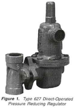 美国费希尔627-576调压器fisher减压阀627燃气管道调压阀图片