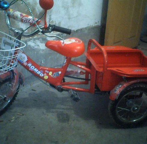 儿童三轮车-永友童车