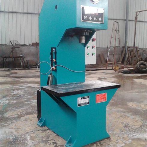 单柱式液压机 龙门油压机图片
