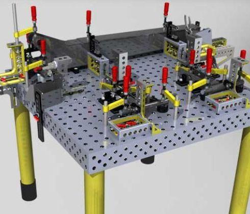焊接工装夹具_三拓焊接设备-3158招商加盟网