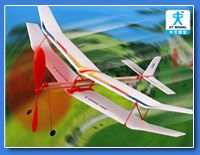 橡筋动力飞机模型