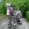 各类动物卡通毛绒玩具电动车