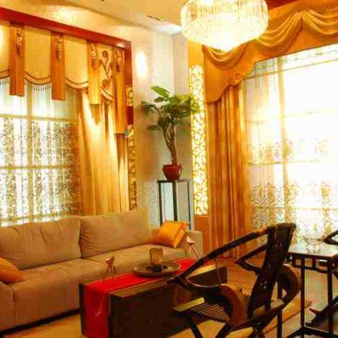 橄榄树客厅窗帘