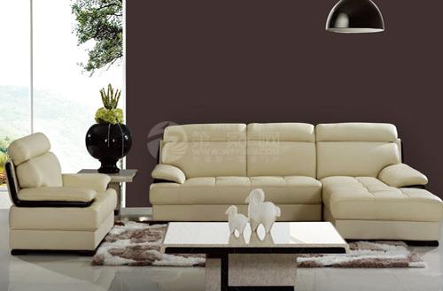 珀茵欧式真皮沙发