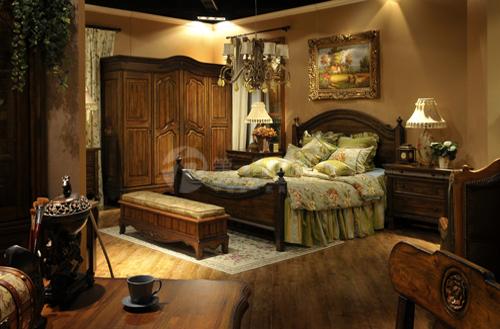 凯墅复古实木家具