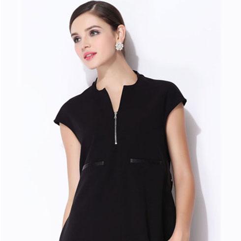朵妃诗女装黑色的裙装