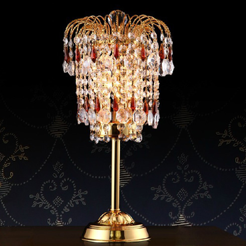 格调生活奢华水晶台灯