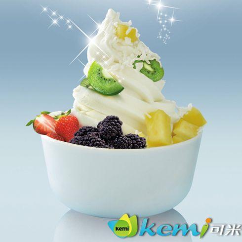 可米鲜果水果捞冰淇淋