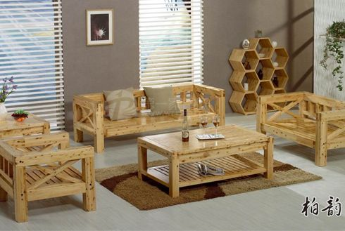 柏韵堂时尚中式实木家具图片