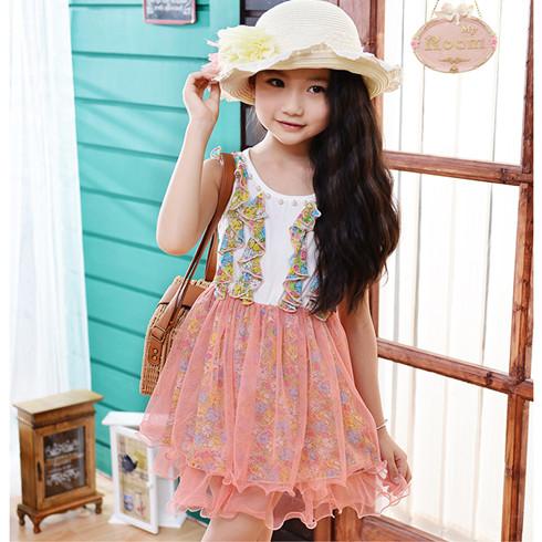 时尚拼接裙
