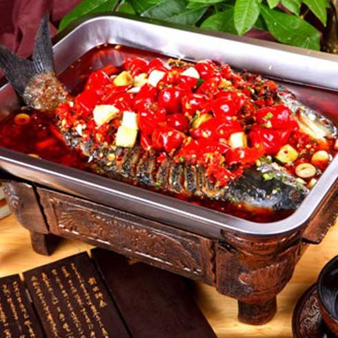 申大嘴泡椒瓦缸烤鱼