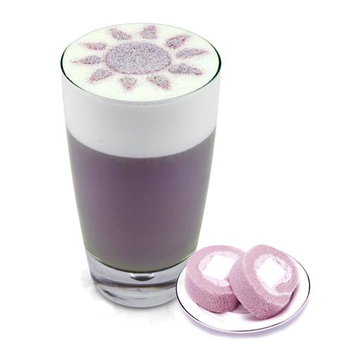 Vme薇蜜中国奶茶-香芋拿铁奶茶