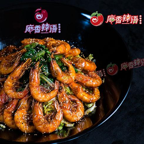 麻香辣语香辣虾系列