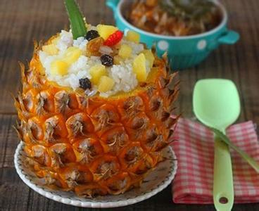 蒸膳美菠萝饭
