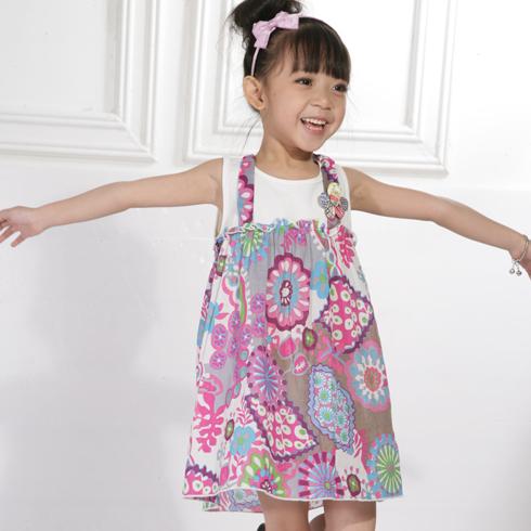 木木雨雨女童花式裙子图片