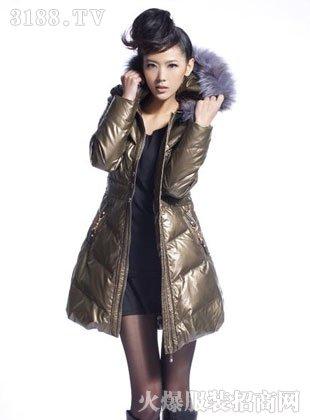 冬羽丽人时尚羽绒服