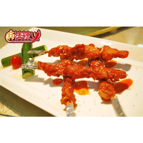麻情辣义香锅店-骨肉相连
