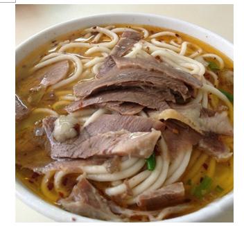 罗集村饸饹面-清汤牛肉饸饹面