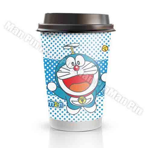 77动漫奶茶饮品-哆啦A梦珍珠奶茶