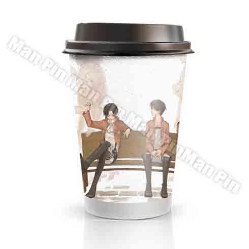 77动漫奶茶饮品-红莲の弓矢抹茶红豆奶茶