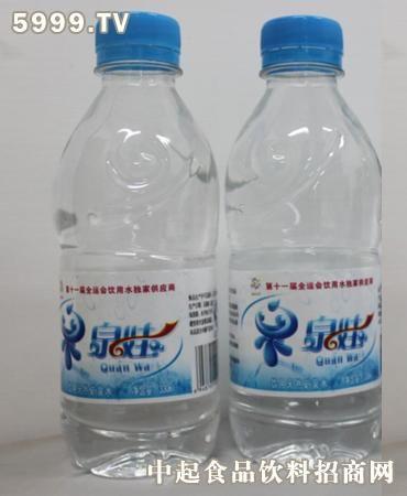 泉娃瓶装330ml矿泉水