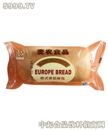 麦农52g欧式香奶面包