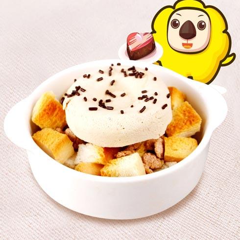 乐派泡芙产品-面包慕斯布丁系列咖啡面包慕斯布丁