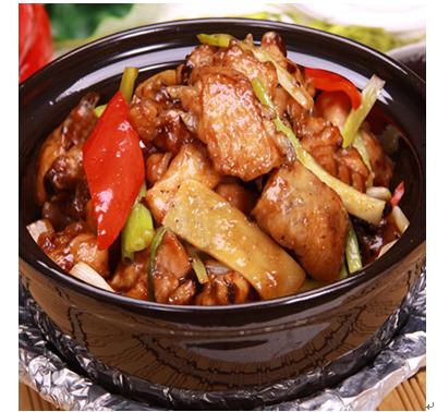 吉美味黄焖鸡米饭产品-秘制黄焖鸡块