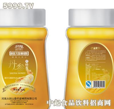 詹氏丹参蜂蜜是由河南大别山詹氏蜜蜂园