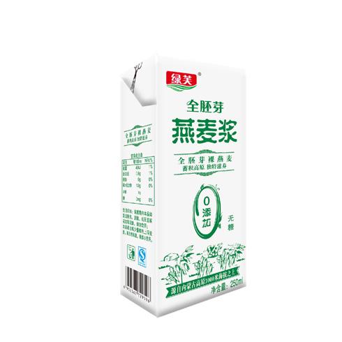 绿芙燕麦坊产品-绿芙全胚芽燕麦浆