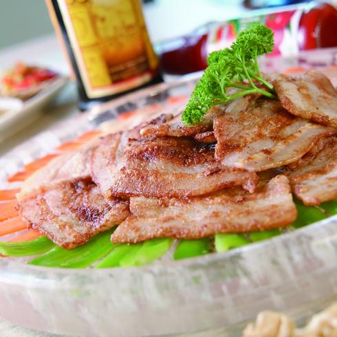 108烤涮烤店产品-108烤水晶回锅肉