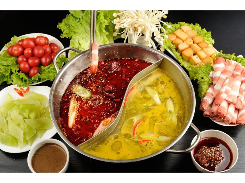 刘一咼火锅店菜品-鸳鸯火锅