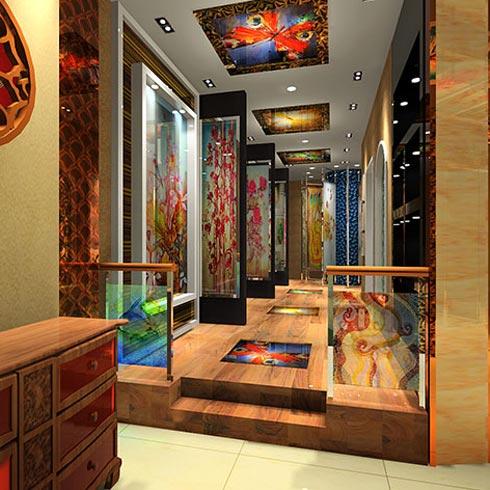 DADA公社4D写真玻璃产品-商务装饰系列