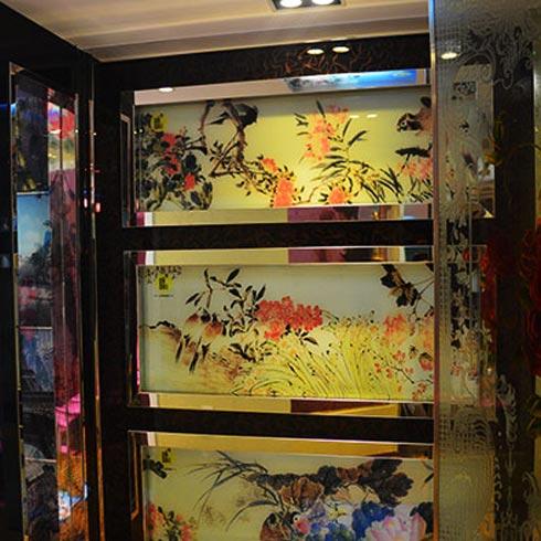 DADA公社4D写真玻璃产品-创意隔断装饰