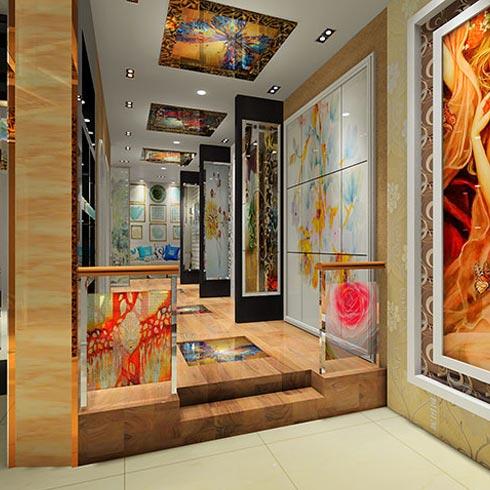 DADA公社4D写真玻璃产品-走廊装饰