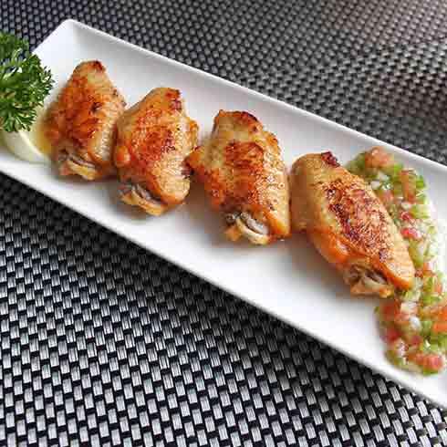 来趣西餐餐厅产品-烤翅