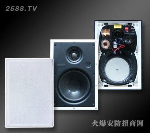 右转-嵌入式二分频音箱yz-228