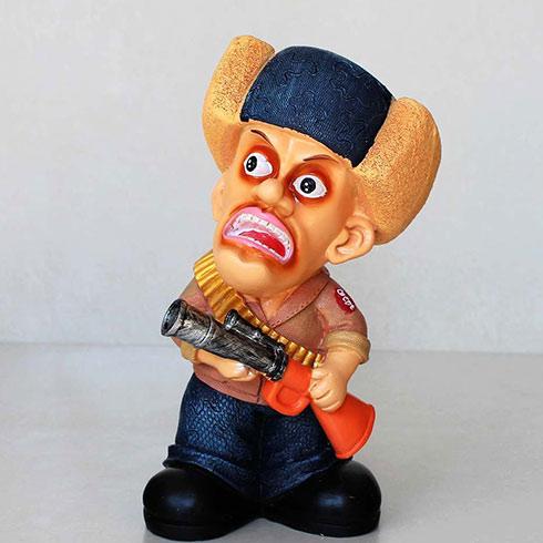 雄联盟涂鸦艺术产品-光头强动漫人物玩偶