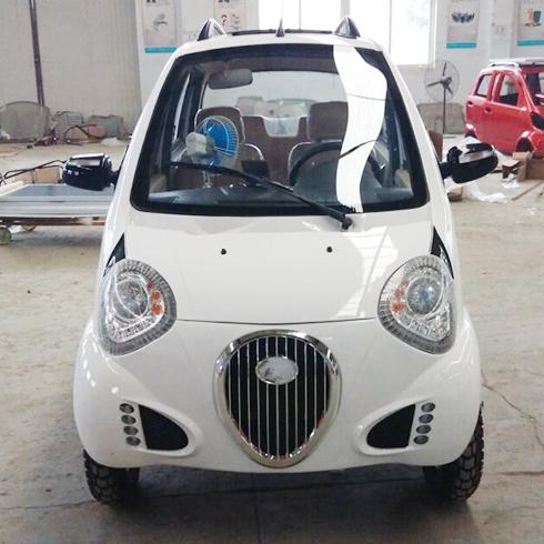 知影电动车产品-知影电动车亮白色新款
