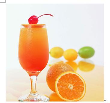 意蓝缇田园鲜果饮产品-鲜果橙汁